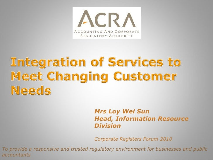 6.1 integration of services (singapore)