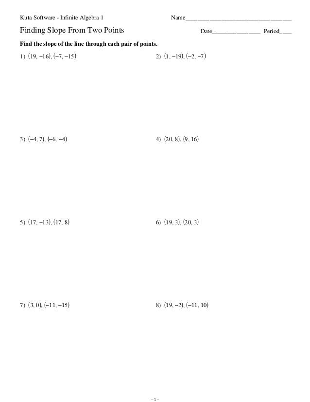 Algebra 2 Point Slope Form Worksheets algebra 2 point slope form – Point Slope Form Worksheet