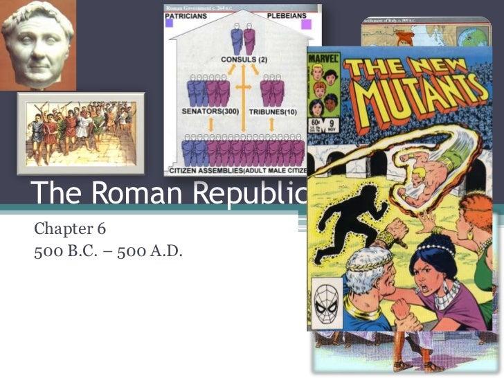6.1 the roman republic