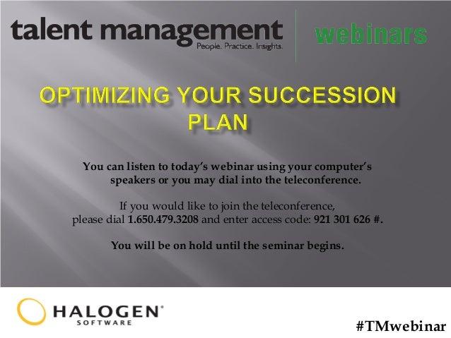 Optimizing Your Succession Plan