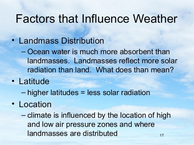 How does the conduction of heat influence global weather systems on Earth?