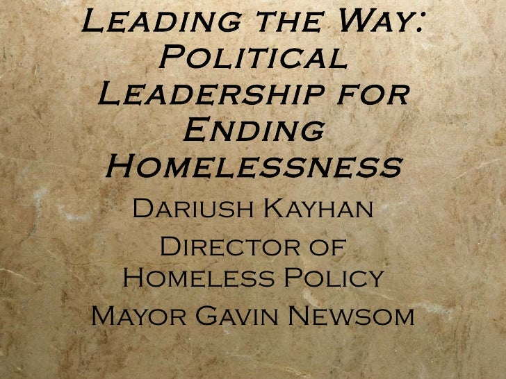 6.2 Leading the Way: Local Political Leadership for Ending Homelessness (Kayhan)