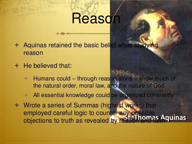 the proofs for the existence of god by thomas aquinas Philosophical proofs on the existence of god if you remain in my word, you will truly be my disciples, and you will know the truth and the truth  the fifth way is taken from the governance of the world and this being we call god b thomas aquinas in the summa theologica.