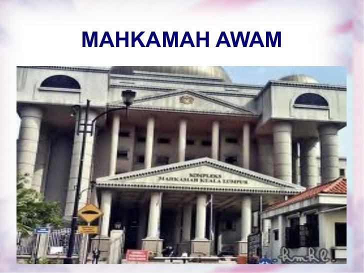 MAHKAMAH AWAM