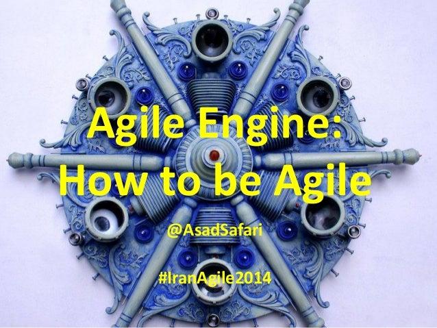 Agile Engine | By Asad Safari
