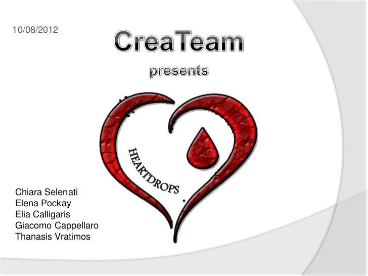 EESTEC Summer School 2012 - Group 6 - createam