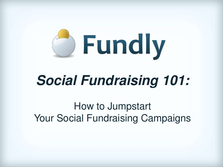 Dave Boyce: Social Fundraising 101: How to Jump Start your Social Fundraising