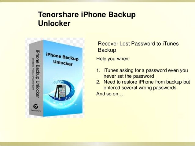 how to find iphone encrypted backup password