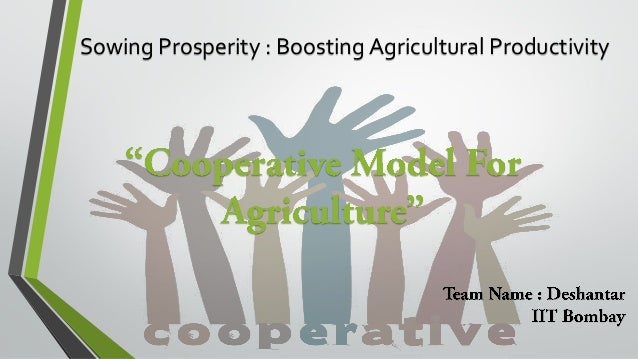 Sowing Prosperity : Boosting Agricultural Productivity