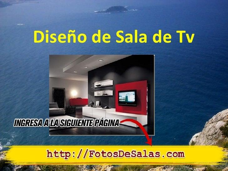 Diseño de salas de tv