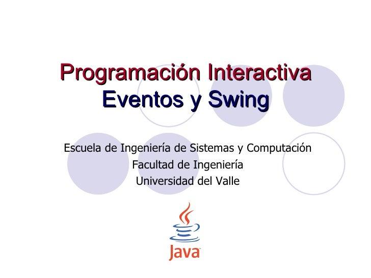 6.eventos y swing