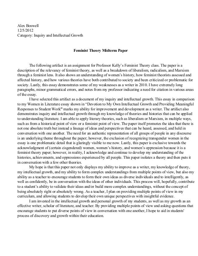 criticism research paper sample