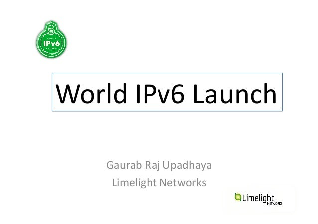 Getting The World IPv6 Enabled