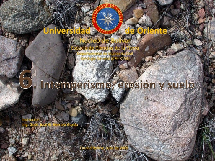 Universidad                                       de Oriente                                     Núcleo de Bolívar        ...
