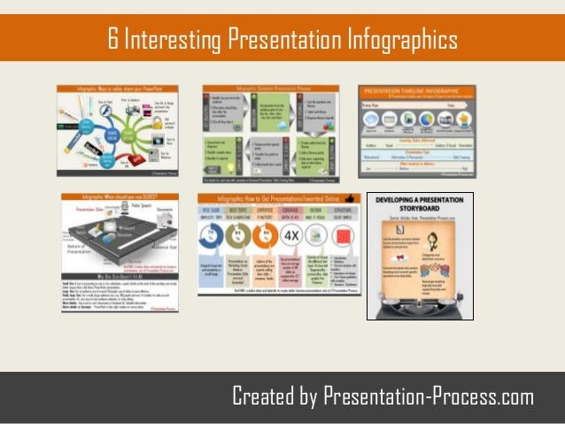 6 Infographics About Presentations