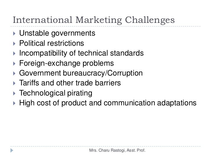International Marketing Case Study - SlideShare