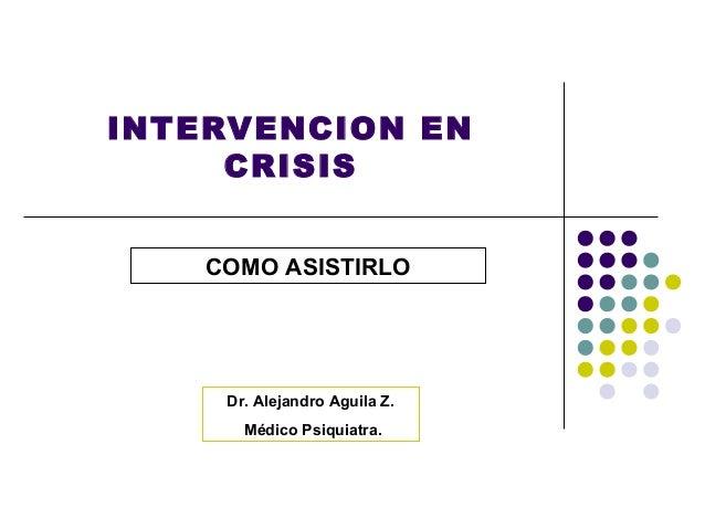 6. intervención en crisis