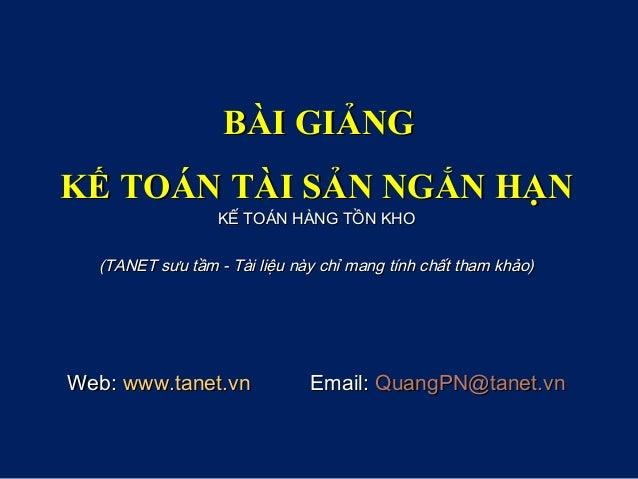 6. ke toan hang ton kho