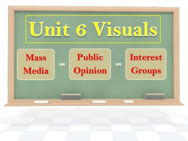 Mass    Public    InterestMedia   Opinion   Groups
