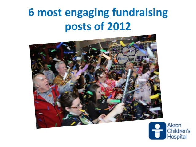 6 most engaging fundraising       posts of 2012