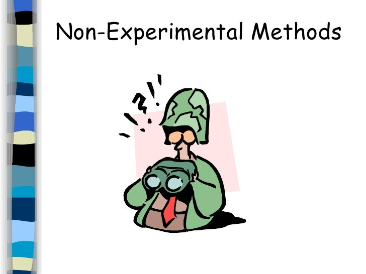 experimental and nonexperimental research design pdf