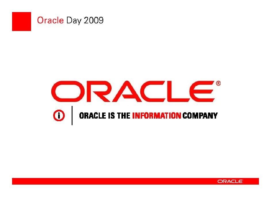 6.Oracle Day2009 Engin Senel V2