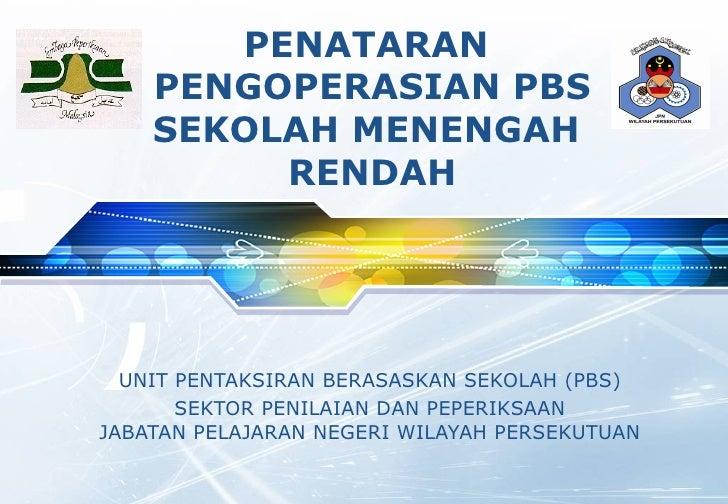 pengoperasian pbs tingkatan 1