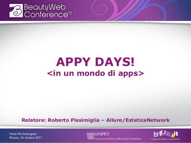 In un mondo di Apps!