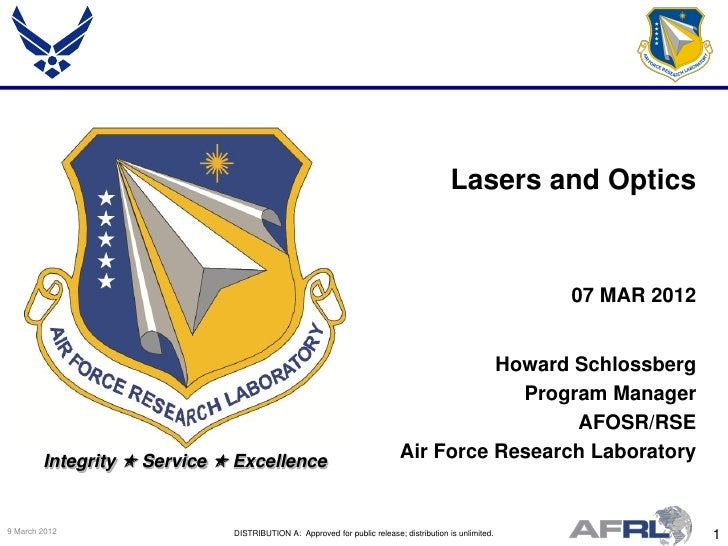 Lasers and Optics                                                                                                       07...
