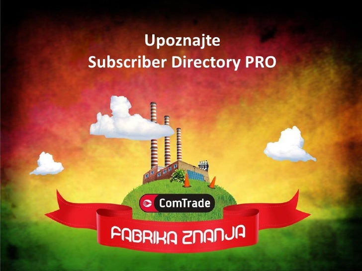 Upoznajte Subscriber Directory PRO