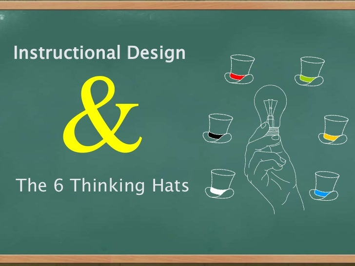 Instructional Design<br />&<br />The 6 Thinking Hats<br />