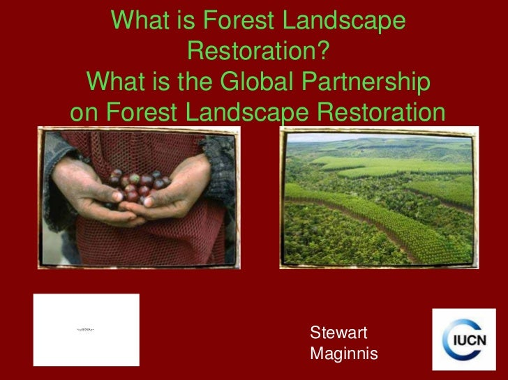 What is Forest Landscape          Restoration? What is the Global Partnershipon Forest Landscape Restoration              ...