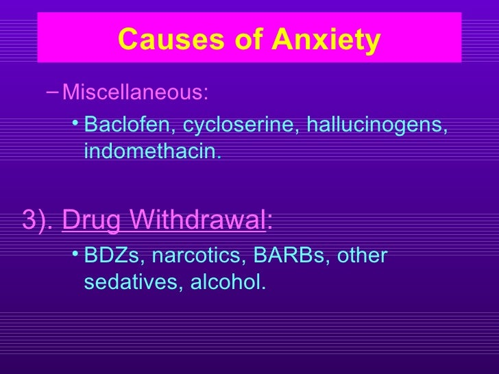 anxiolytic drugs ~ Baclofen Dosage For Anxiety