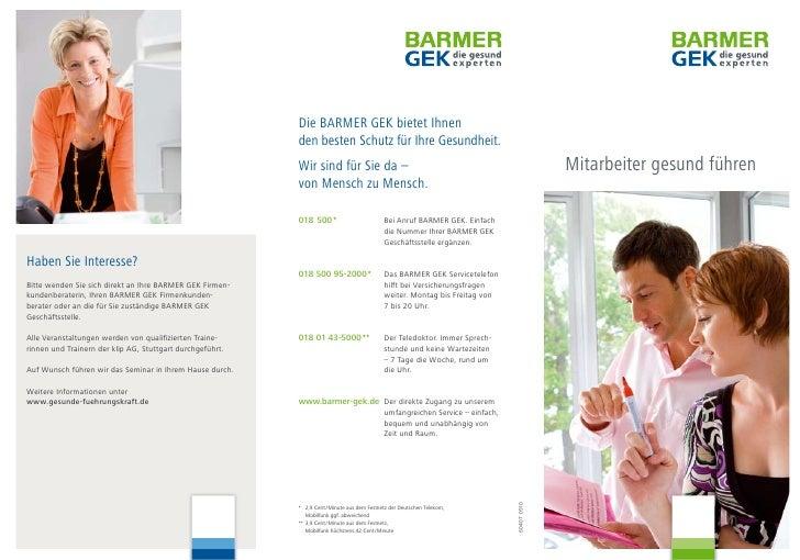 Die BARMER GEK bietet Ihnen                                                            den besten Schutz für Ihre Gesundhe...
