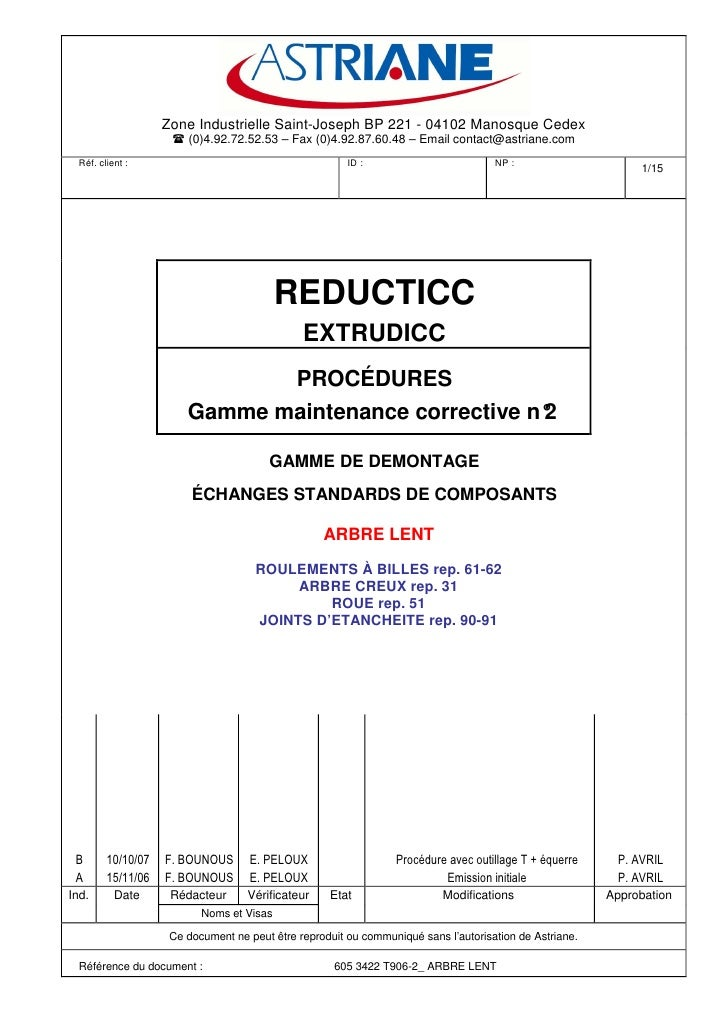 Zone Industrielle Saint-Joseph BP 221 - 04102 Manosque Cedex                         (0)4.92.72.52.53 – Fax (0)4.92.87.60....