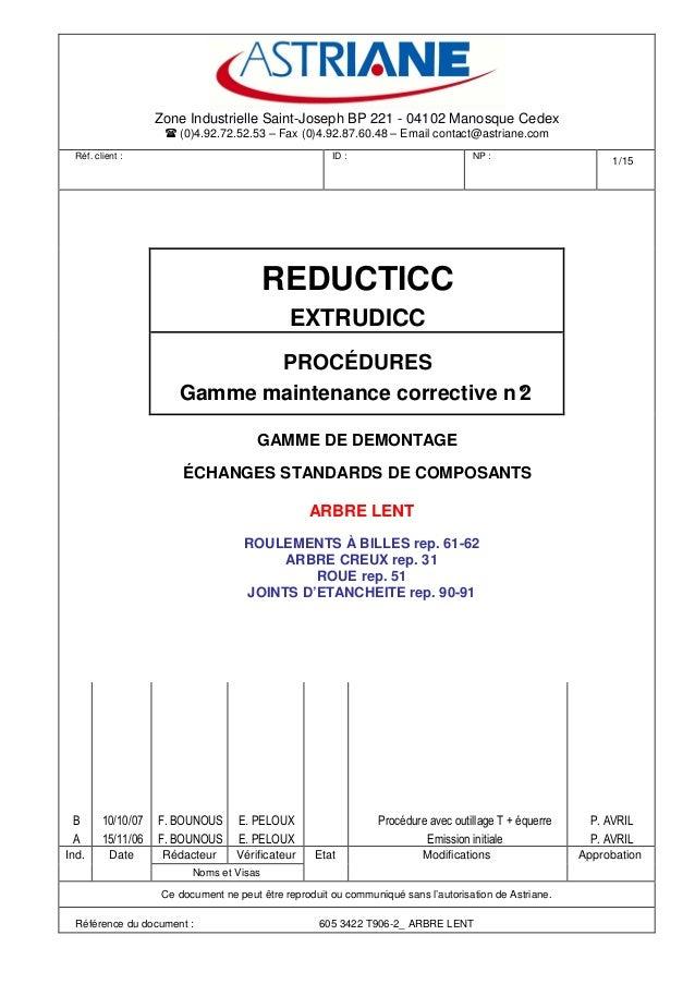 Zone Industrielle Saint-Joseph BP 221 - 04102 Manosque Cedex (0)4.92.72.52.53 – Fax (0)4.92.87.60.48 – Email contact@astri...