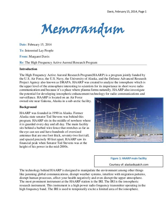 Davis, February 15, 2014, Page 1  Memorandum Date: February 15, 2014 To: Interested Lay People From: Margaret Davis Re: Th...