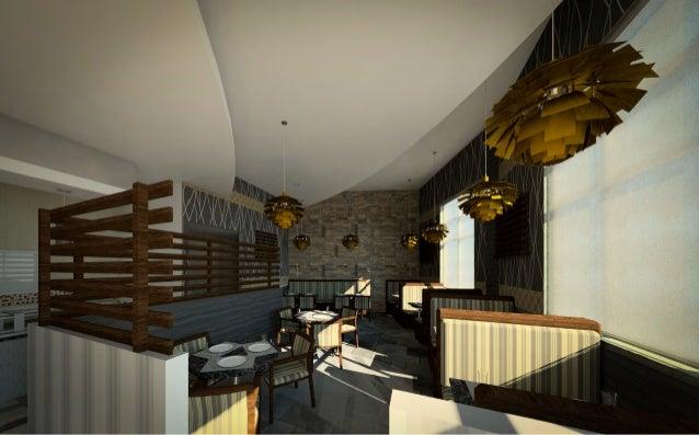 Interior Design - Restaurant Renderings