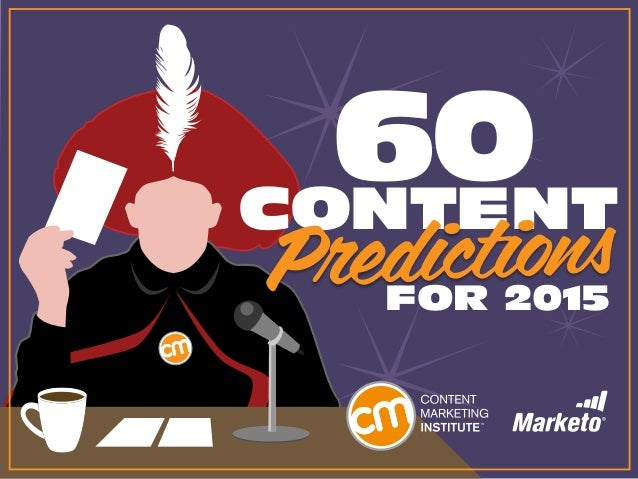 CONTENT FOR 2015 60 Predictions