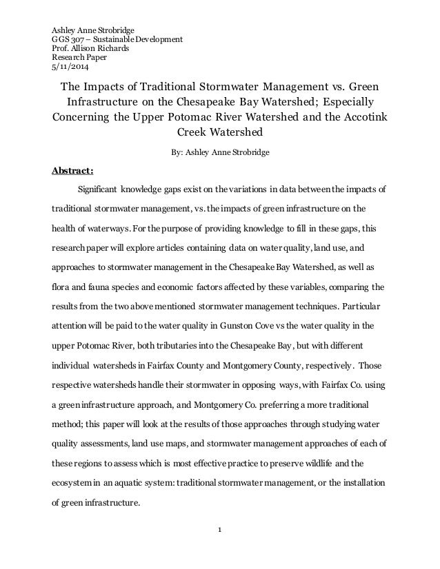 Bridge research paper