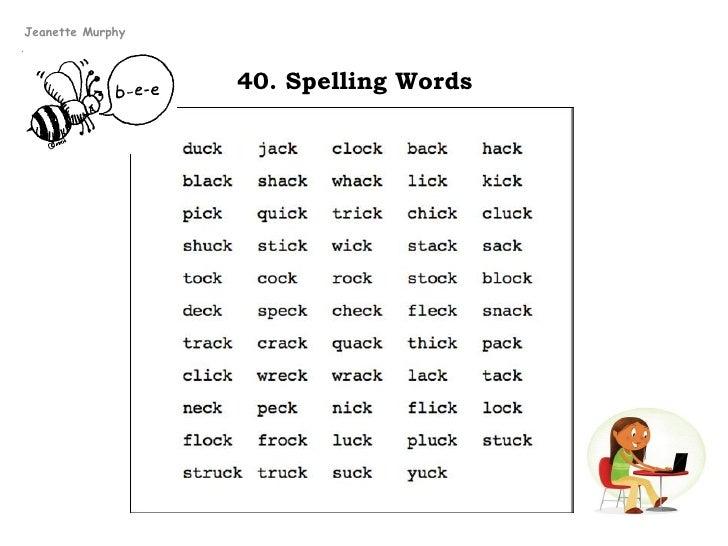 40 words