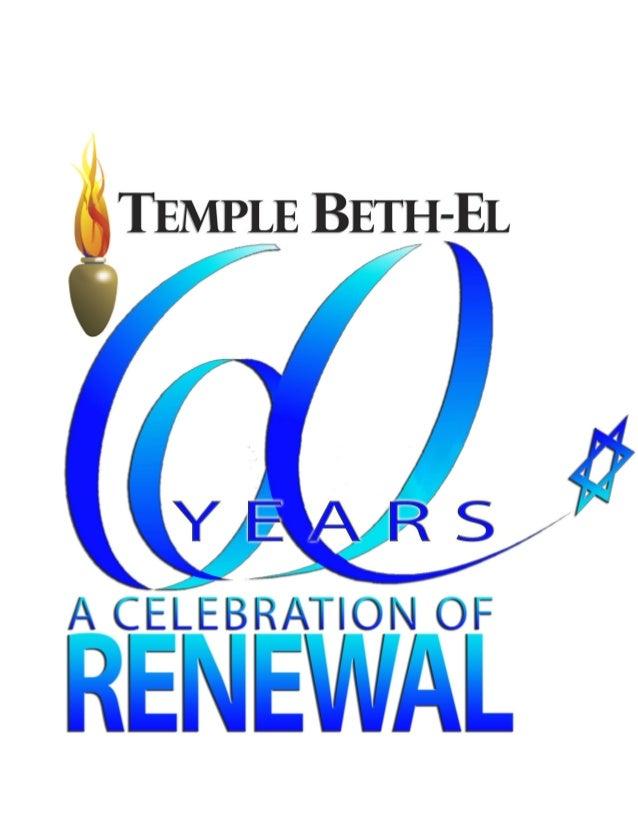 Rabbi Barry Altman, D.D. rabbi@templebeth-el.us 386.675.6612 Zev Sonnenstein cantor@templebeth-el.us 386.675.6613 Administ...