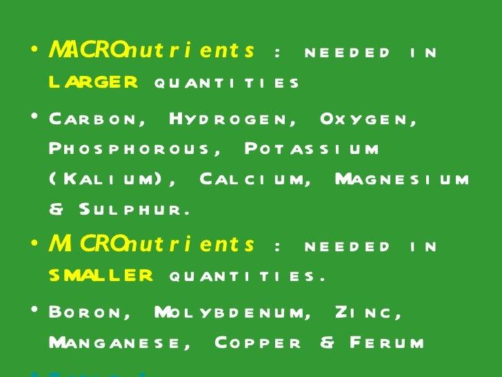 the 3 micronutrients 3 micronutrients micronutrient deficiencies including vitamin b 12, folate, zinc, calcium, iron, magnesium, selenium, copper, and vitamins a, d, and e have all been.