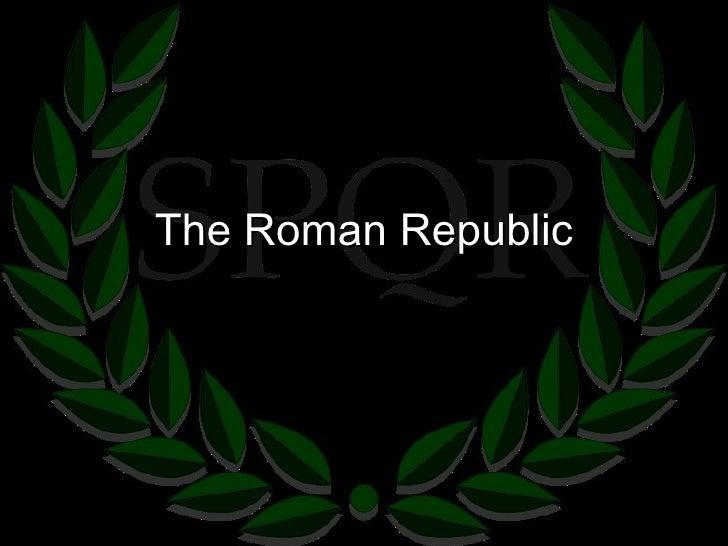 6.1 -The Roman Republic & Punic Wars