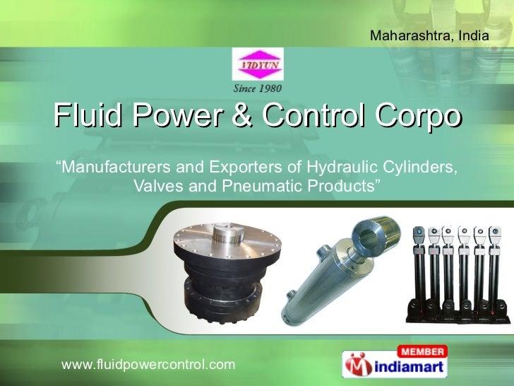 Fluid Power and Control Corpo Maharashtra India