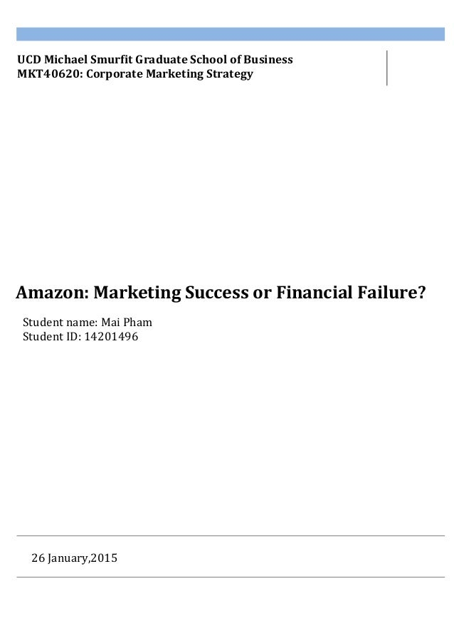 a discussion on the success of amazon and the failure of webvan How can i get over my failed interview at amazon update cancel  with each success reach out farther with each failure learn and appreciate the opportunity to.