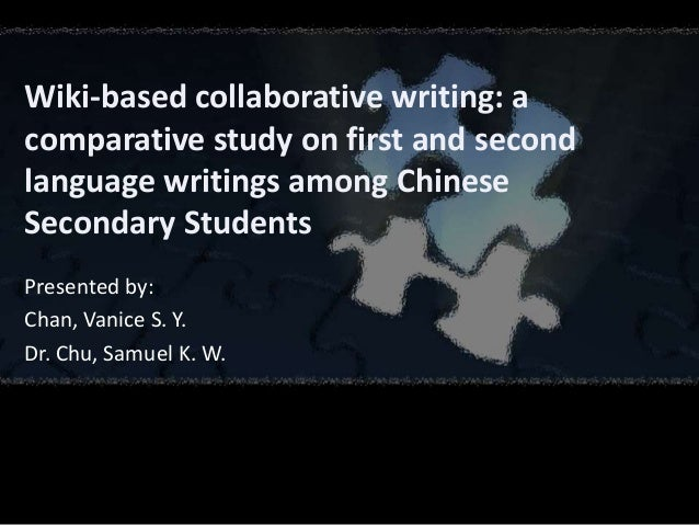 Collaborative Teaching Wiki ~ Wiki based collaborative writing a comparative study on
