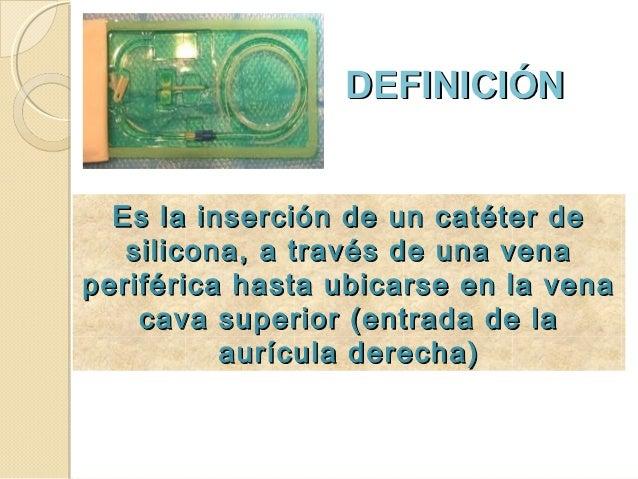 Insercion de catéter percutáneo en recién nacidos - CICAT