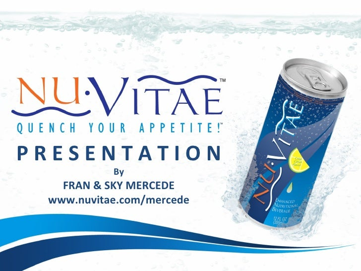NuVitae Presentation