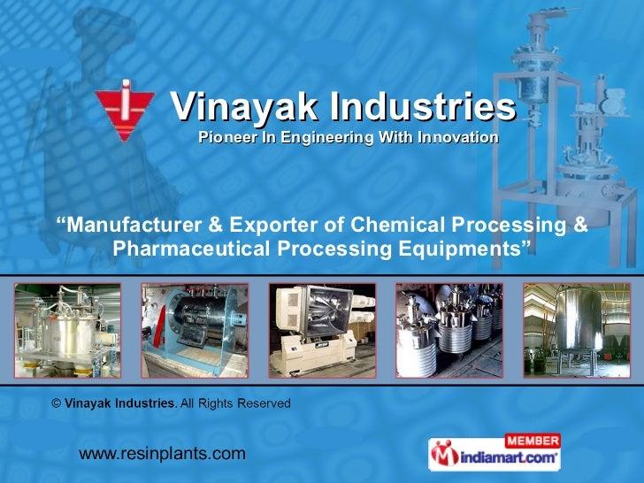 Vinayak Industries Maharashtra  india